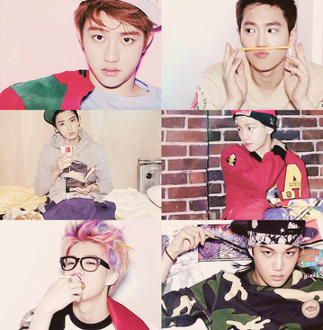 EXO-k highlight medley picture tumblr